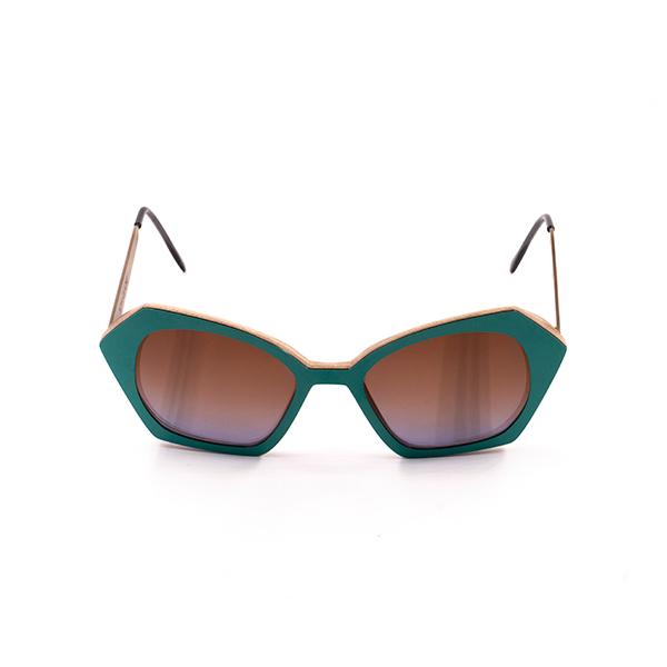 adela turquoise high gloss finish